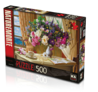 KS GAMES 500 PARÇA PUZZLE MORNİNG TEA